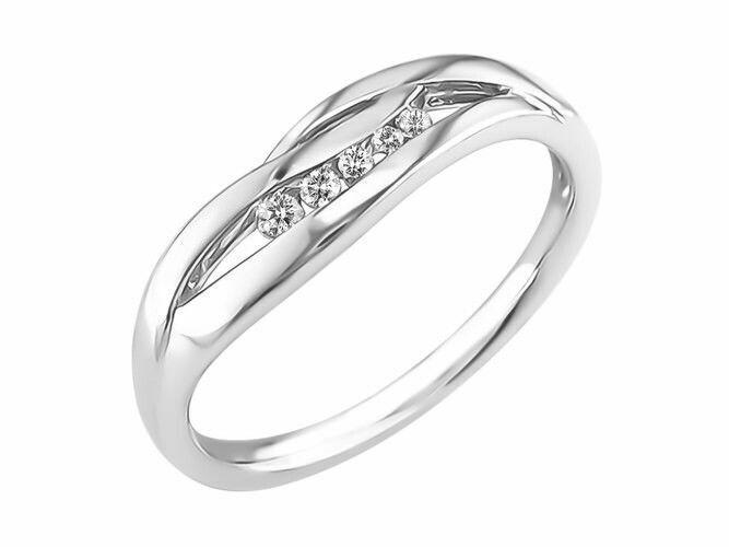 Ring goud 18kt 4156