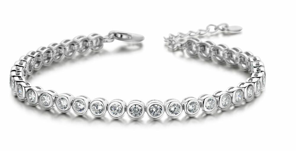 Silver Rose Armband BR2009W