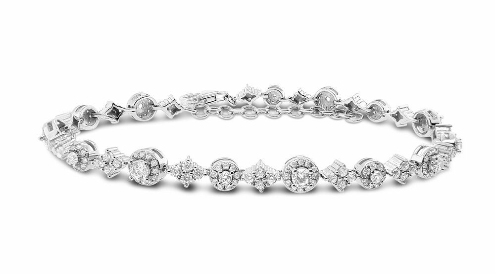 Silver Rose Armband BR2138W