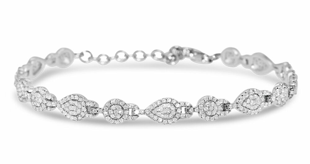 Silver Rose Armband BR2180W