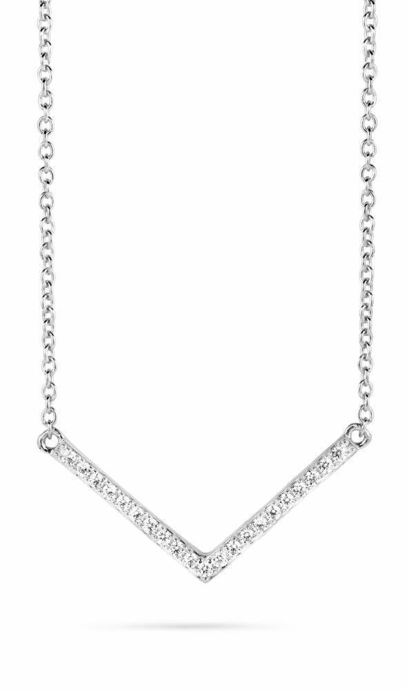 Silver Rose Ketting CH6380W