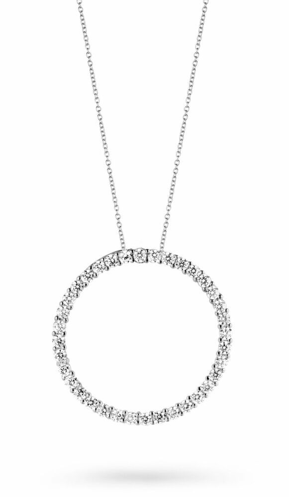 Silver Rose Ketting P3100W