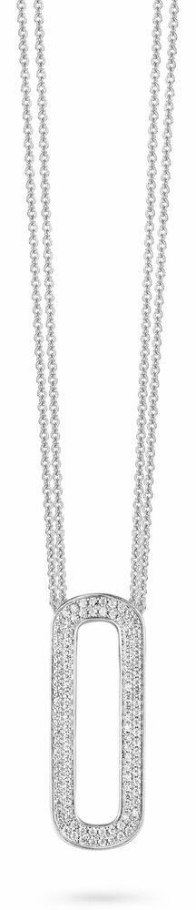 Silver Rose Ketting P6356W