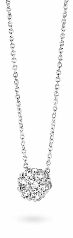 Silver Rose Ketting P6425W