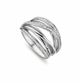 Silver Rose Ring R6361W